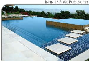 Infinity Edge Infinity Edge Pools Custom Swimming Pools By