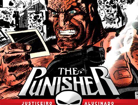 Punisher No 10 os quadrinhos the punisher justiceiro alucinado