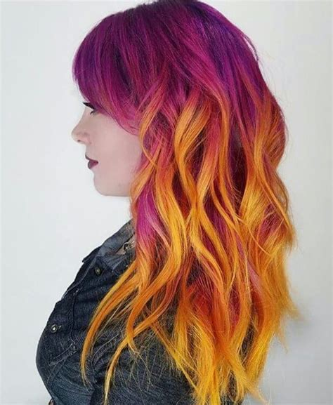 mixed hair colors 1182 best rainbow of hair images on colourful