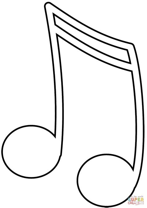 printable music notes coloring pages music note coloring page free printable coloring pages