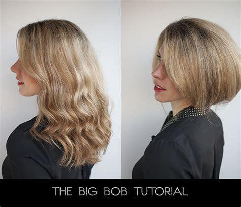 bob hairstyles tutorial hairstyle tutorial how to create a big faux bob hair