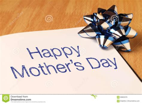 Happy Mothers Day To Sheryl by S Day Is Observed The Second Sunday In May Stock