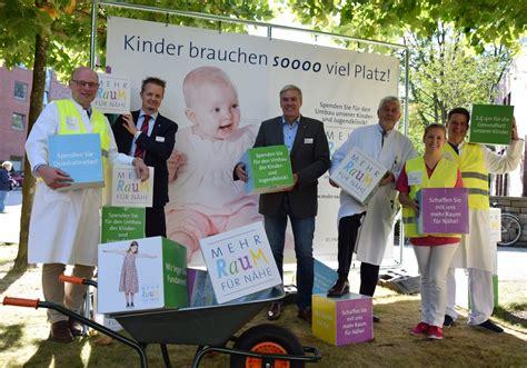 decker klinik st franziskus hospital spenden geben kindern mehr raum