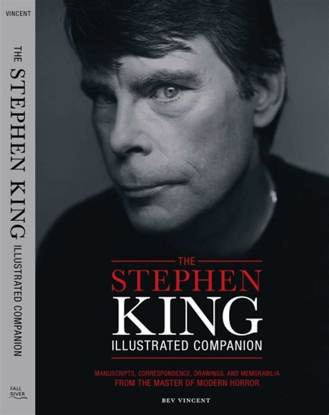 Biography Book On Stephen King | the stephen king illustrated companion bev vincent