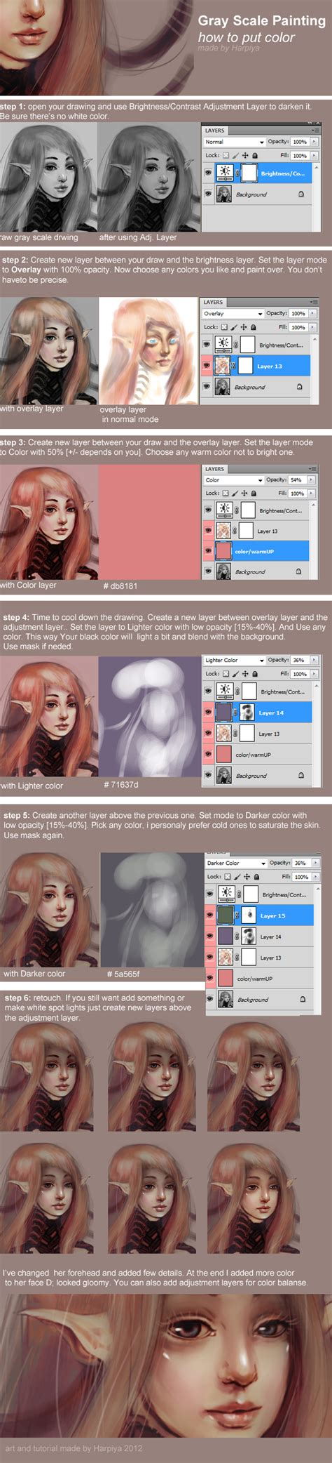 scale pattern in photoshop cs5 grayscale coloring by harpiya on deviantart