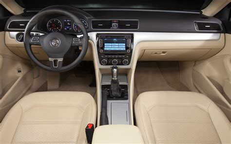 white volkswagen passat interior 2012 car of the year volkswagen passat motor trend