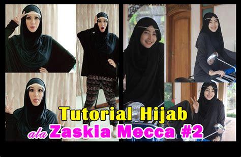 tutorial hijab lebaran ala zaskia adya mecca tutorial hijab
