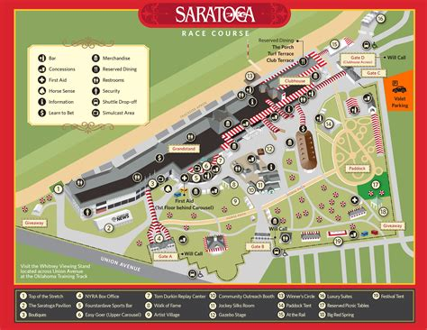 Saratoga Springs Race Track Giveaways - image gallery saratoga racetrack 2016