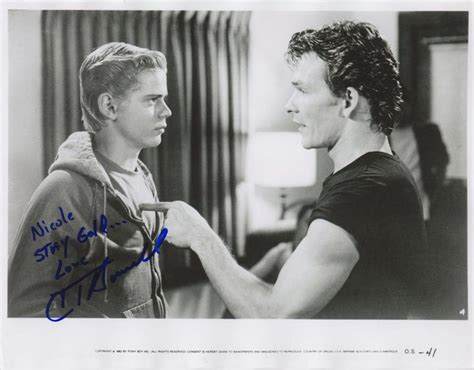 Has A Crush On Swayze by 255 Best The Outsiders Images On