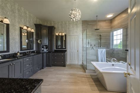 custom master bathrooms jlh inc custom home jeffrey l henry inc custom homes