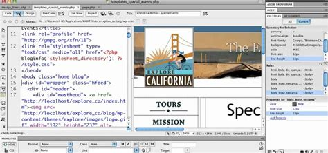 how to use templates in dreamweaver tutorial template dreamweaver cs5 software free