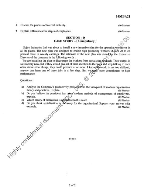2nd Semester Mba Internship by 2nd Semester Mba June 2015 Question Papers