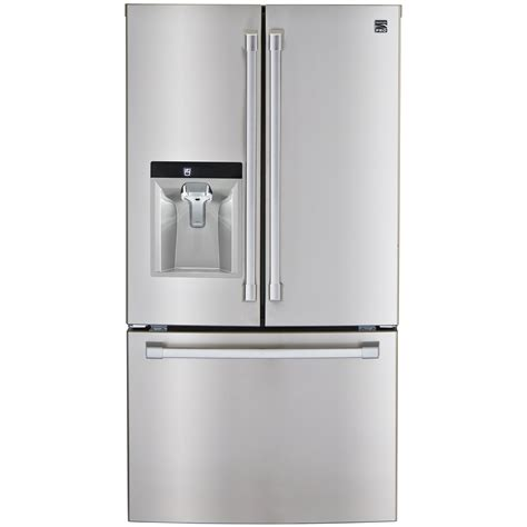 kenmore door counter depth refrigerator kenmore pro 23 7 cu ft counter depth door