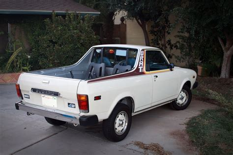 brat car subaru brat our cars