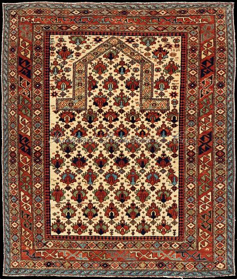 prayer rug shirvan prayer rug with flower field caucasian shirvan rug