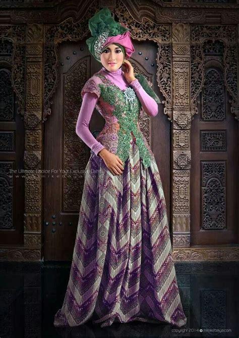 desain gaun kebaya muslimah tips memilih gaun kebaya pesta bagi wanita muslimah