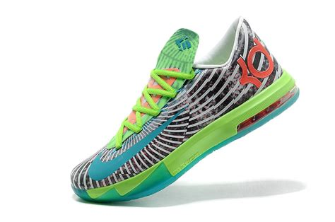zebra basketball shoes refinement nlke kd vi basketball shoes green zebra no tax