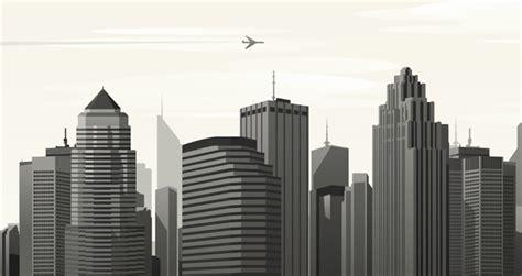 vector city skyline vol decorative vectors pixeden