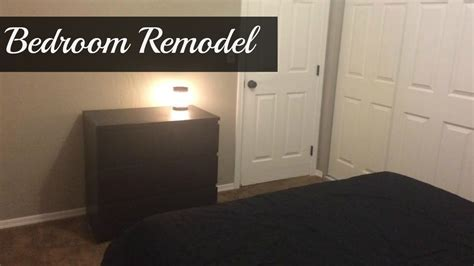 remodeled bedrooms before and after bedroom remodel before and after youtube