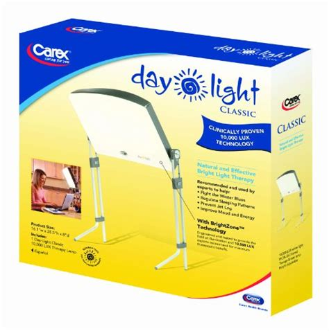 7000 lux bright white light day light classic bright light therapy l provides 10000
