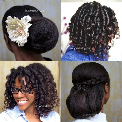 hairstyles relaxed hair without heat 30 days without heat my fave no heat styles just grow