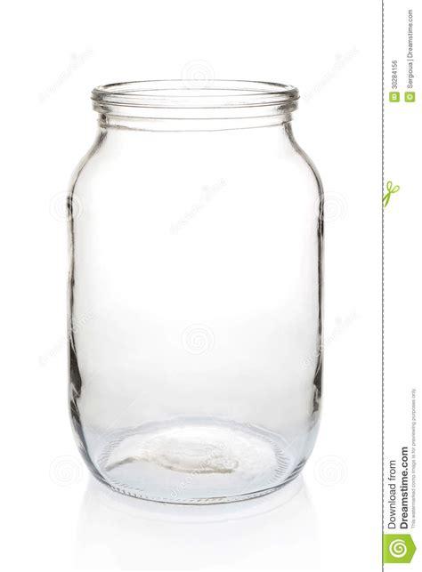 glass jar  liter empty royalty  stock image