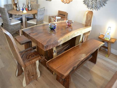 best wood to make a dining room table solid wood dining furniture ward log homes