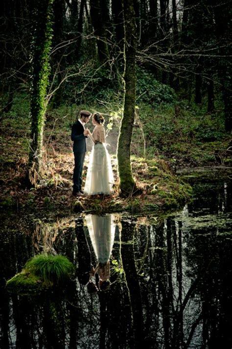 dreamy outdoor woodland wedding ideas deer pearl flowers