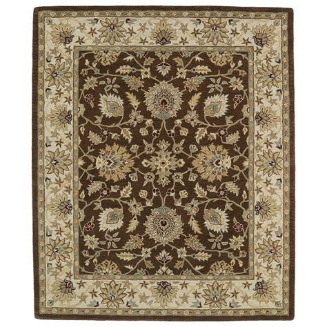 5 X 9 Area Rug Kaleen Taj Chocolate 5 Ft X 7 Ft 9 In Area Rug Taj09 40 5 X 7 9 The Home Depot