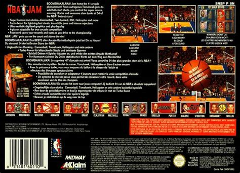 Mba Jam 3ds by Nba Jam Box For Nintendo Gamefaqs