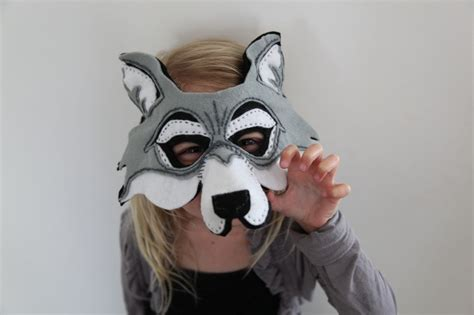 How To Make A Wolf Mask Out Of Paper - pin wolf mask for image search results on