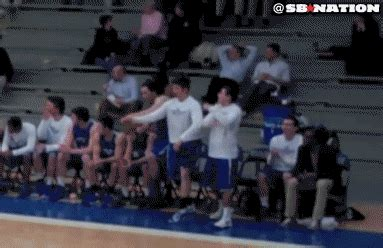 colby college bench celebrations colby college s bench has the best celebrations in hoops