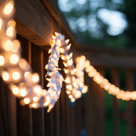 hanging string lights on patio hanging patio string lights a pattern of perfection