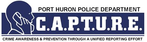 Port Huron Arrest Records Capture Program