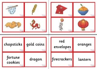 new year story flashcards new year vocabulary