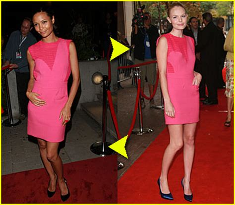 Who Wore It Better Kate Bosworth Vs Thandie Newton In Preen by Kate Bosworth Dresses