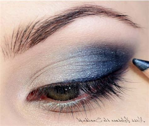 Eyeshadow Blue blue eye makeup for prom www imgkid the image kid