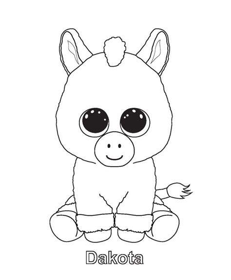 beanie boo coloring pages beanie boo colouring pages beanie boos bday