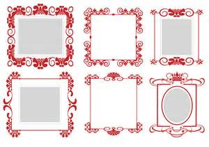 frames vector free pattern frame 01 vector free vector 4vector