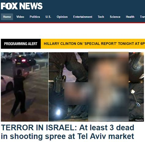 Press Coverage Ynetnews News International Coverage Of Ta Terror Attack Refer To Shooting But