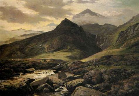 Landscape Artists Uk Landscape Paintings Of Snowdonia A History Of