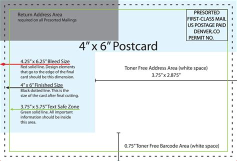 4 X 6 Postcard Template Best And Professional Templates Professional Postcard Templates