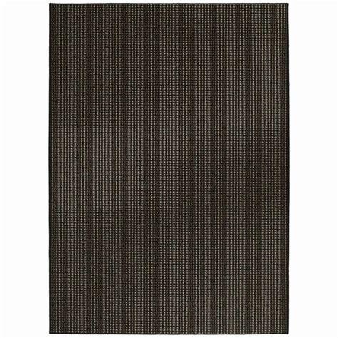 garland rug berber colorations black 7 ft 6 in x 9 ft 6