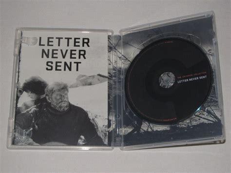 Letter Never Sent Criterionforum Org Packaging For Letter Never Sent