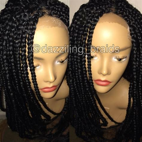 kaylis box braided wigs lace front box braid wig lace front braid wig