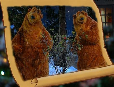 bear inthe big blue house christmas legend of the winter berry muppet wiki