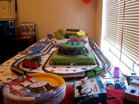 The Tank Engine Table by The Tank Engine Cake Table