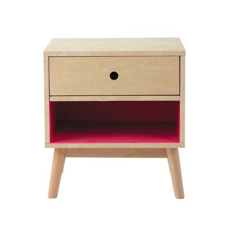lade comodini comodino vintage in legno con cassetto l 43 cm home