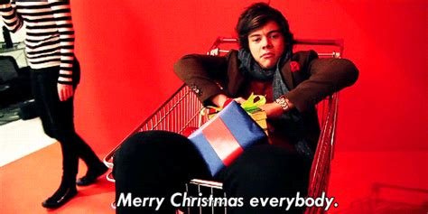 harry styles quote  xmas  santa merry christmas holidays gifs christmas cq