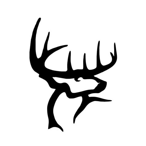 buck commander tattoo buck commander personality car styling car stickers gun